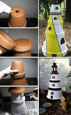 aktywności outdoorowe latarnia z doniczek