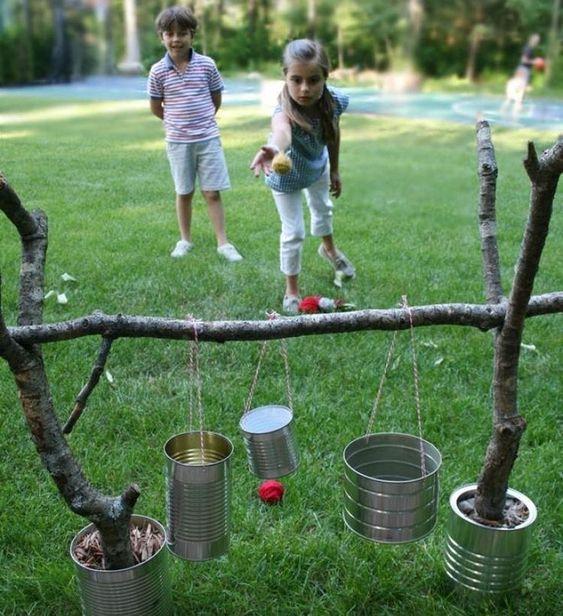 aktywności outdoorowe puszki do zabaw