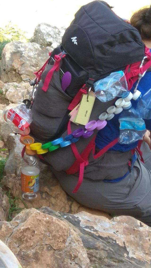 do pustych butelek plastikowych