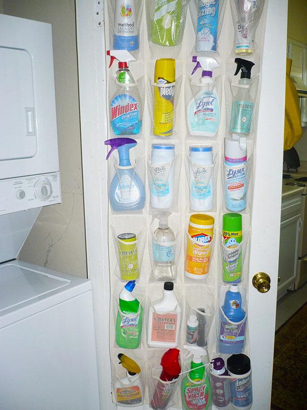 przechowywanie detergentów