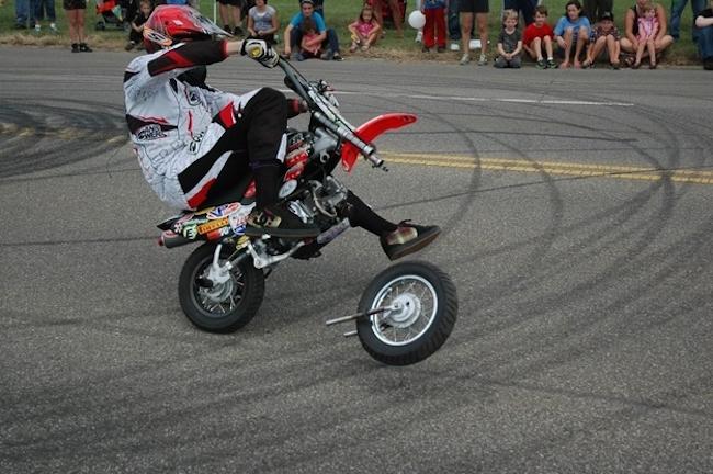 motocykl bez koła
