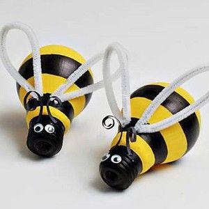 pszczółki z żarowek