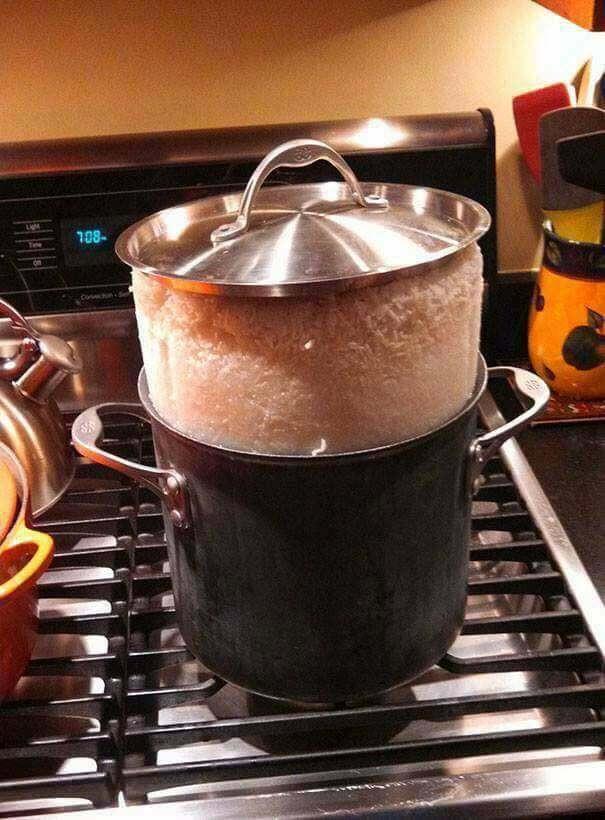 garnek ryżu