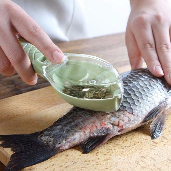skrobanie ryb