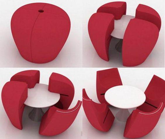 stolik i fotele