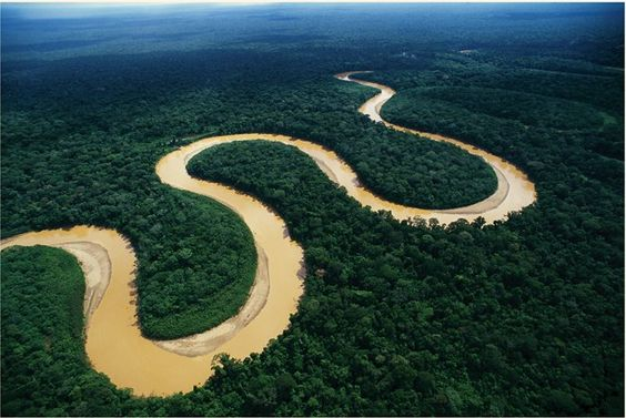 niezwykłe rzeki