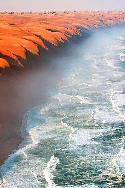 ocean i pustynia