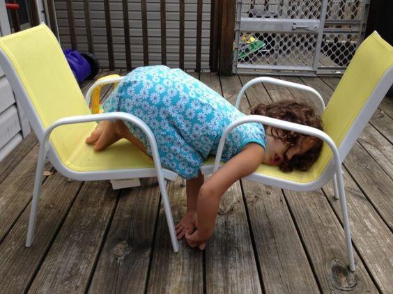 śpiące dzieci
