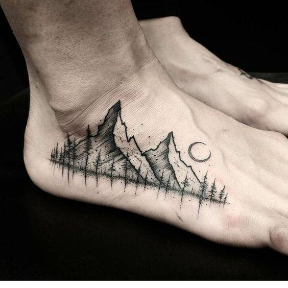 tatuaże na kostce