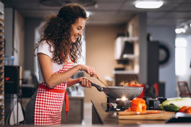 kulinarne porady - kobieta