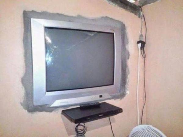 królowie pecha - telewizor